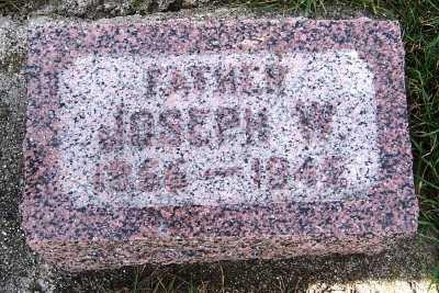 HORN, JOSEPH W. (1855-1942) - Sioux County, Iowa | JOSEPH W. (1855-1942) HORN