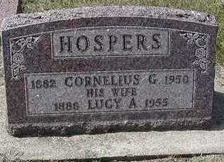 HOSPERS, LUCY A. - Sioux County, Iowa | LUCY A. HOSPERS