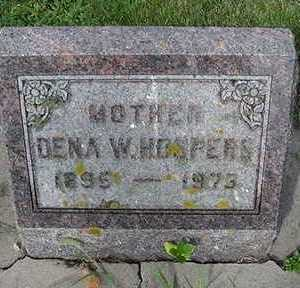 HOSPERS, DENA W. - Sioux County, Iowa   DENA W. HOSPERS