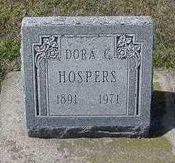 HOSPERS, DORA G. - Sioux County, Iowa | DORA G. HOSPERS