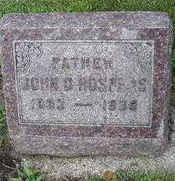 HOSPERS, JOHN D. - Sioux County, Iowa | JOHN D. HOSPERS