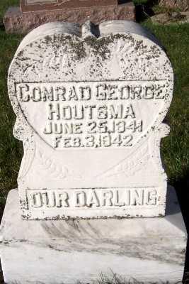 HOUTSMA, CONRAD GEORGE - Sioux County, Iowa | CONRAD GEORGE HOUTSMA