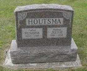 HOUTSMA, JELTJE - Sioux County, Iowa   JELTJE HOUTSMA