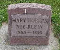 KLEIN HUBERS, MARY - Sioux County, Iowa | MARY KLEIN HUBERS