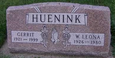 HUENINK, GERRIT - Sioux County, Iowa | GERRIT HUENINK