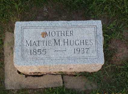 HORTON HUGHES, MATTIE - Sioux County, Iowa | MATTIE HORTON HUGHES