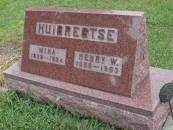 HUIBREGTSE, MINA - Sioux County, Iowa   MINA HUIBREGTSE