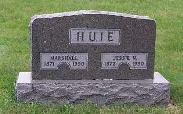 HUIE, JESSIE N. - Sioux County, Iowa | JESSIE N. HUIE