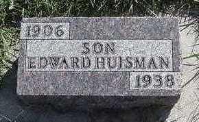 HUISMAN, EDWARD - Sioux County, Iowa | EDWARD HUISMAN