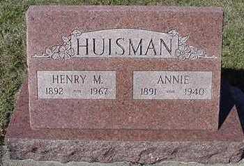 HUISMAN, ANNIE (MRS. HENRY M.) - Sioux County, Iowa | ANNIE (MRS. HENRY M.) HUISMAN