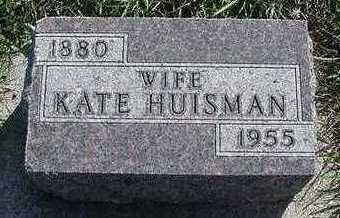 HUISMAN, KATE - Sioux County, Iowa | KATE HUISMAN