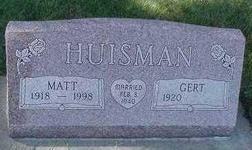 HUISMAN, MATT - Sioux County, Iowa | MATT HUISMAN
