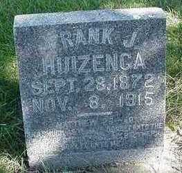 HUIZENGA, FRANK J. - Sioux County, Iowa | FRANK J. HUIZENGA