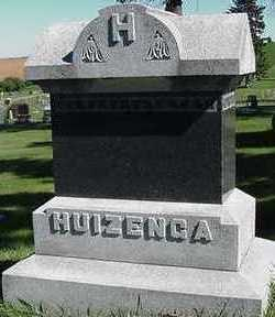 HUIZENGA, HEADSTONE - Sioux County, Iowa | HEADSTONE HUIZENGA