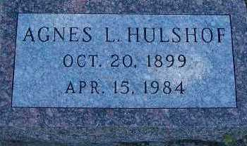 HULSHOF, AGNES L. - Sioux County, Iowa | AGNES L. HULSHOF