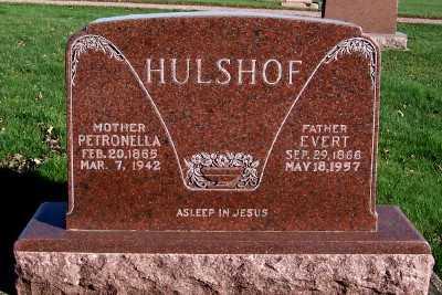 HULSHOF, PETRONELLA - Sioux County, Iowa | PETRONELLA HULSHOF