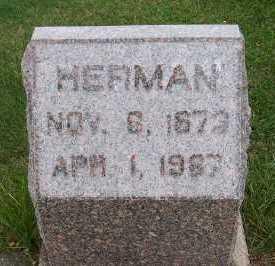 HULSHOF, HERMAN - Sioux County, Iowa | HERMAN HULSHOF