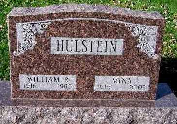 HULSTEIN, MINA - Sioux County, Iowa   MINA HULSTEIN