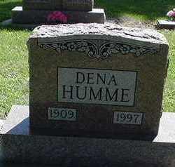 HUMME, DENA - Sioux County, Iowa   DENA HUMME