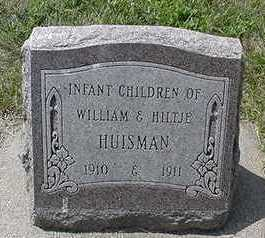 HUISMAN, INFANT CHILDREN - Sioux County, Iowa   INFANT CHILDREN HUISMAN