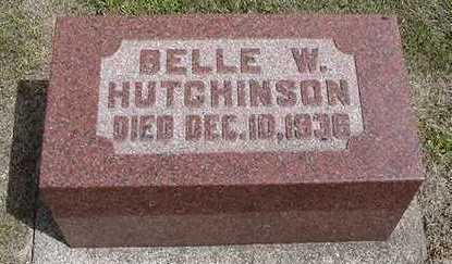 HUTCHINSON, BELLE W. - Sioux County, Iowa | BELLE W. HUTCHINSON