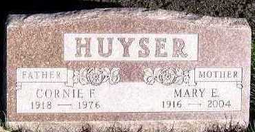 HUYSER, CORNIE F. - Sioux County, Iowa | CORNIE F. HUYSER
