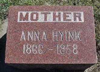 HYINK, ANNA - Sioux County, Iowa | ANNA HYINK