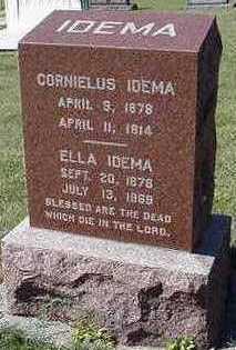 IDEMA, ELLA (MRS. CORNELIUS) - Sioux County, Iowa | ELLA (MRS. CORNELIUS) IDEMA
