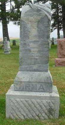 IHRMAN, HEADSTONE FAMILY - Sioux County, Iowa   HEADSTONE FAMILY IHRMAN