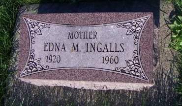 INGALLS, EDNA M. - Sioux County, Iowa | EDNA M. INGALLS