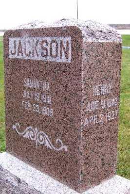 JACKSON, SAMANTHA - Sioux County, Iowa | SAMANTHA JACKSON