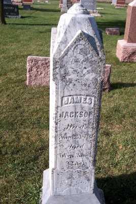 JACKSON, JAMES - Sioux County, Iowa   JAMES JACKSON