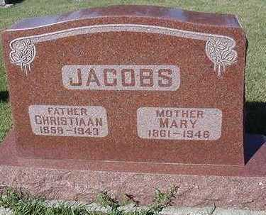 JACOBS, MARY (MRS. CHRISTIAAN) - Sioux County, Iowa | MARY (MRS. CHRISTIAAN) JACOBS