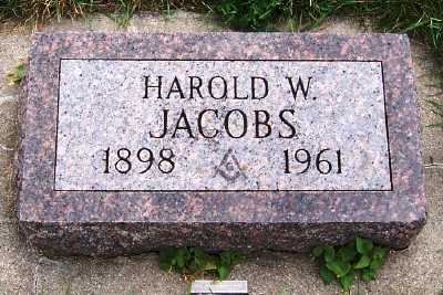 JACOBS, HAROLD W. - Sioux County, Iowa | HAROLD W. JACOBS