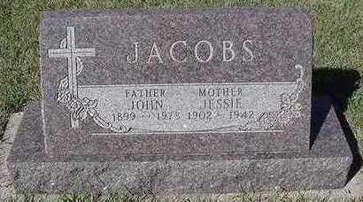JACOBS, JESSIE (MRS. JOHN) - Sioux County, Iowa | JESSIE (MRS. JOHN) JACOBS