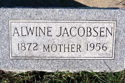 JACOBSEN, ALWINE - Sioux County, Iowa | ALWINE JACOBSEN
