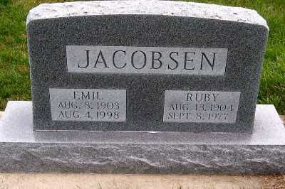 JACOBSEN, RUBY - Sioux County, Iowa | RUBY JACOBSEN