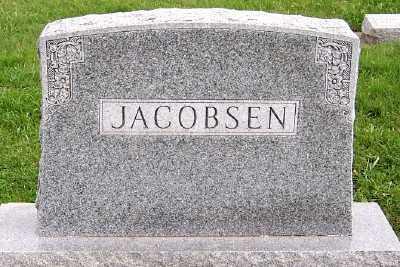 JACOBSEN, HEADSTONE - Sioux County, Iowa   HEADSTONE JACOBSEN
