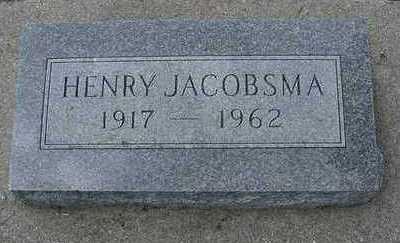 JACOBSMA, HENRY - Sioux County, Iowa | HENRY JACOBSMA