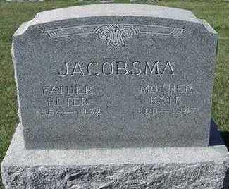 JACOBSMA, PETER - Sioux County, Iowa   PETER JACOBSMA