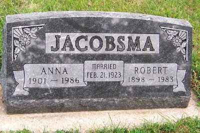 JACOBSMA, ROBERT - Sioux County, Iowa | ROBERT JACOBSMA