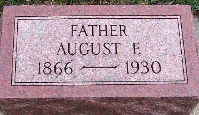 JADHE, AUGUST F. - Sioux County, Iowa | AUGUST F. JADHE