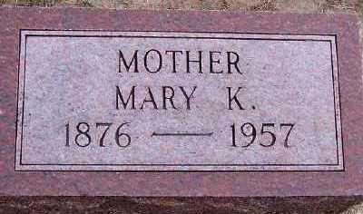JADHE, MARY K. - Sioux County, Iowa | MARY K. JADHE