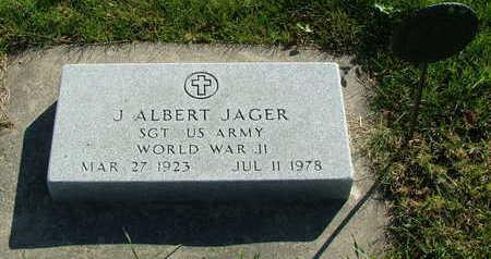 JAGER, J. ALBERT - Sioux County, Iowa | J. ALBERT JAGER