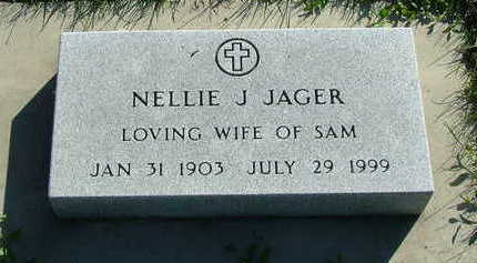 JAGER, NELLIE - Sioux County, Iowa | NELLIE JAGER