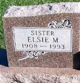 JAHDE, ELSIE M. - Sioux County, Iowa   ELSIE M. JAHDE