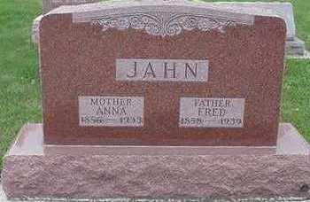 JAHN, ANNA - Sioux County, Iowa | ANNA JAHN