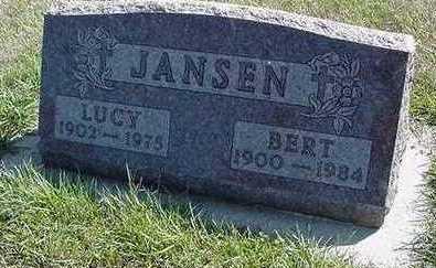 JANSEN, BERT - Sioux County, Iowa | BERT JANSEN