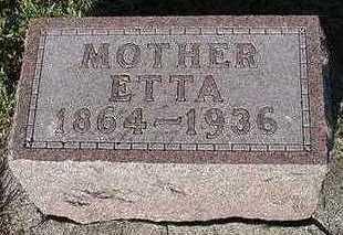 JANSEN, ETTA (MOTHER) - Sioux County, Iowa | ETTA (MOTHER) JANSEN