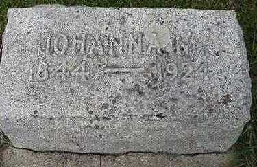 JANSEN, JOHANNA M. - Sioux County, Iowa | JOHANNA M. JANSEN